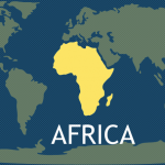 7 Continents - Africa Map
