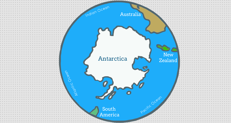Facts About Antarctica Map