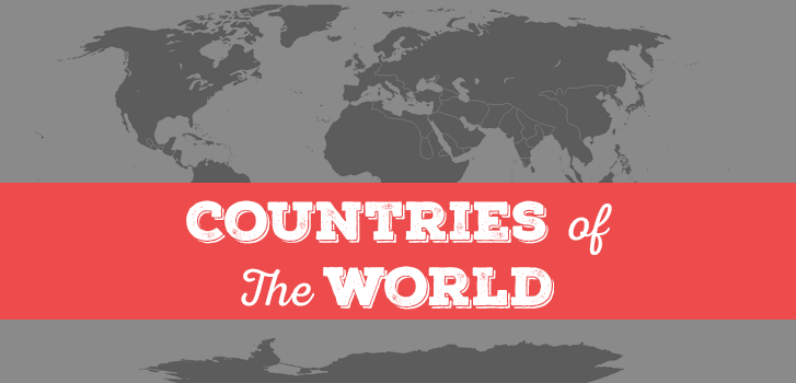 Countries of the World List